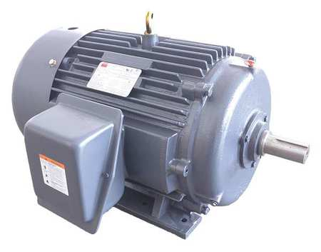 Mtr, 3 Ph, 30 HP, 3550, 208-230/460, Eff 91.7