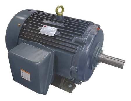 Mtr, 3 Ph, 40 HP, 1775, 208-230/460, Eff 94.1