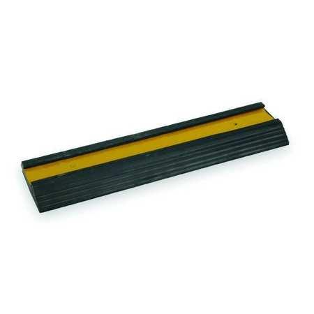 Dock Bumper, 18x1-3/8x5-1/4 In., Rubber