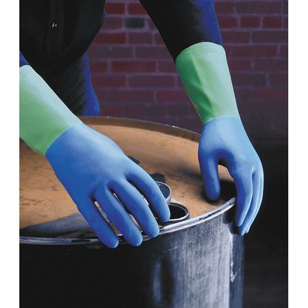 Chemical Resistant Glove, 7 to 7-1/2, PR