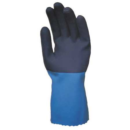 Chemical Resistant Glove, 12 In.L, Sz S, PR