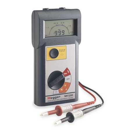 Battery Operated Megohmmeter, 500VDC