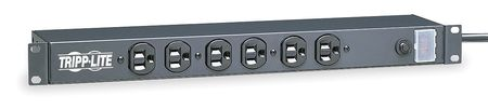 PDU, 120V, 14 Outlet, 15 ft., Black
