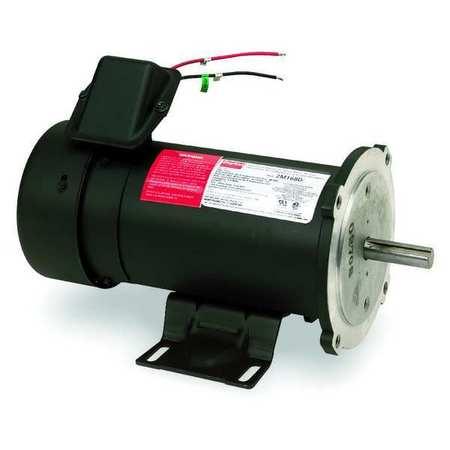 DC Motor, PM, TEFC, 1 HP, 1750 rpm, 90VDC
