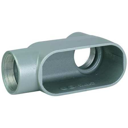 Conduit Outlet Body, Iron, LB, 3/4 In.