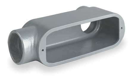 Conduit Outlet Body, Iron, LB, 1 In.