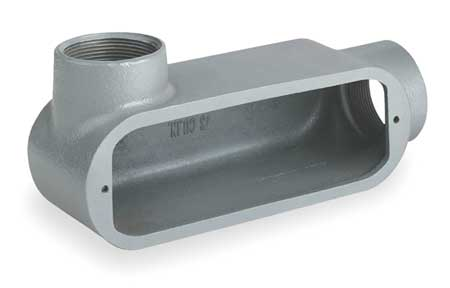 Conduit Outlet Body, Iron, LL, 1-1/4 In.
