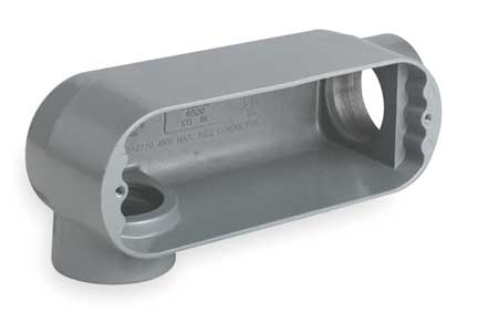 Conduit Outlet Body, Iron, LR, 2 In.