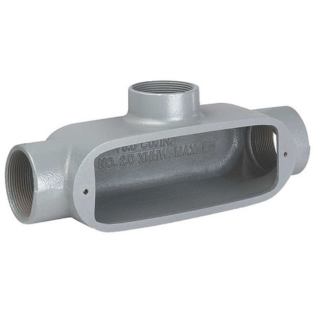 Conduit Outlet Body, T, 1/2 In.