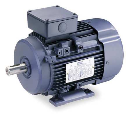 Premium Efficiency Metric Motor, Rigid