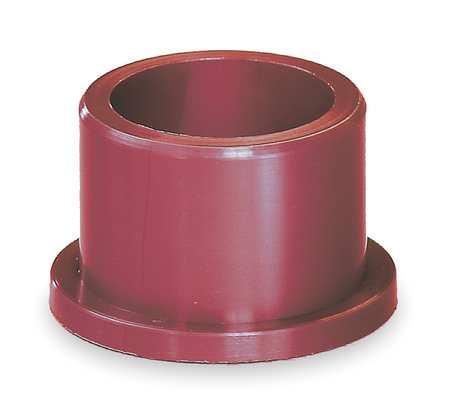 Flanged Bearing, 3/8 IDx3/4 In L, PK5