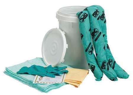 Spill Kit,  Chem/Hazmat,  White
