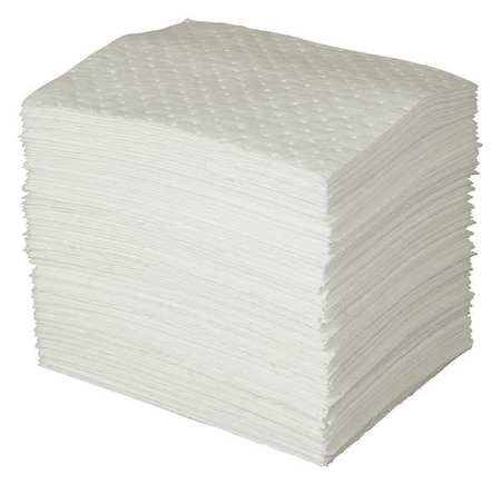 Absorbent Pads, 35 gal., 15 In. W, PK100