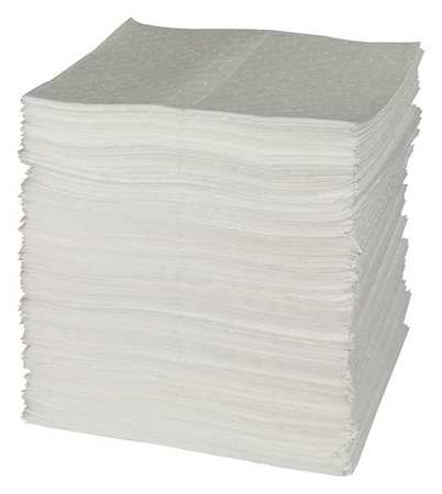 Absorbent Pads, 15 In. W, 40 gal., PK200