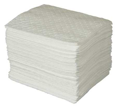 Absorbent Pads, 30 gal., 15 In. W, PK100