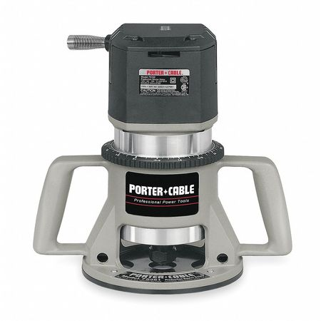 Fixed Base Router, 3 1/4 HP, 15A, 5 Speed