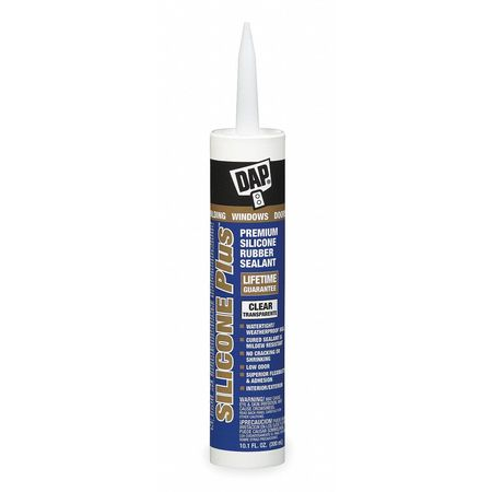 Caulks and Sealants- Silicone Plus  Window and Door Sealant