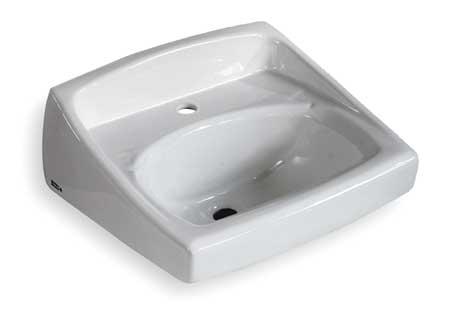 Bathroom Sink, 18-1/4 In. W, 12-1/8 In. H