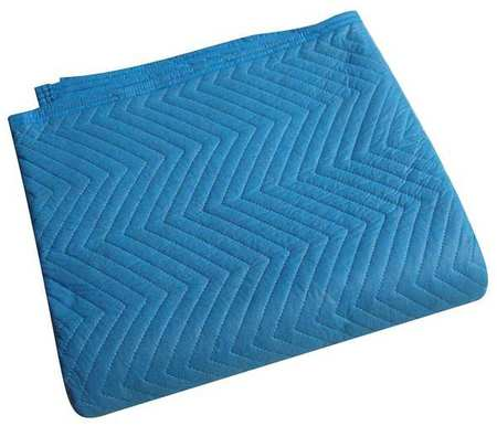 Quilted Moving Pad, L72xW80In, Blue, PK12