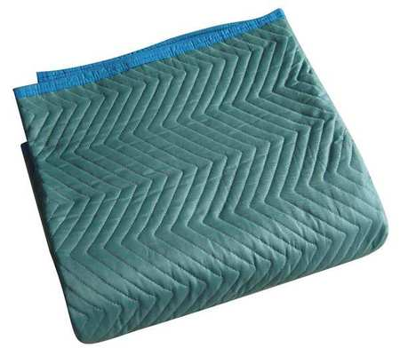 Quilted Moving Pad, L72xW80In, Green, PK6
