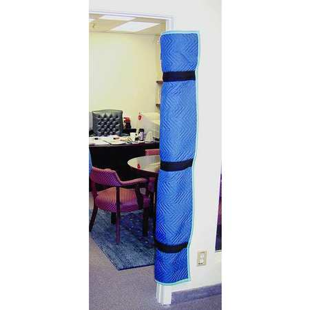 Door Jamb Protector Pad, 69 In. L, 2.5 lb.