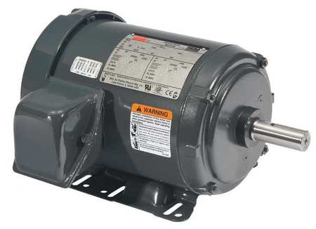 Mtr, 3Ph, 1 HP, 1170, 208-230/460, Eff 82.5