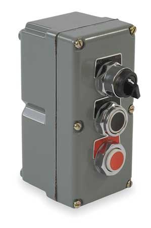 Push Button Control Station, 3NO/3NC, 30mm