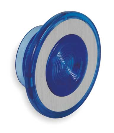 Push Button Cap, Illuminated, 30mm, Blue
