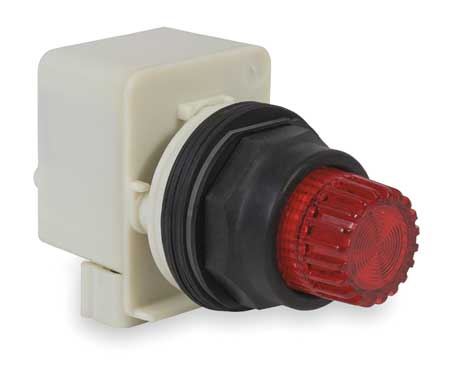 Illum Push Button Operator, 30mm, Red