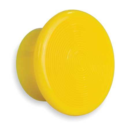 Push Button Cap, Illuminated, 30mm, Yellow