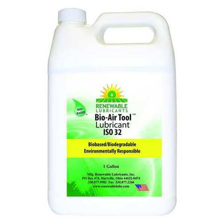 Air Tool Lube, ISO 32 Biodegradable, Gal