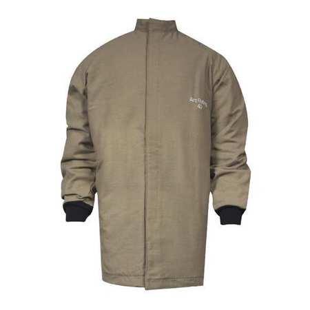 Flame-Resistant Jacket, Khaki, XL