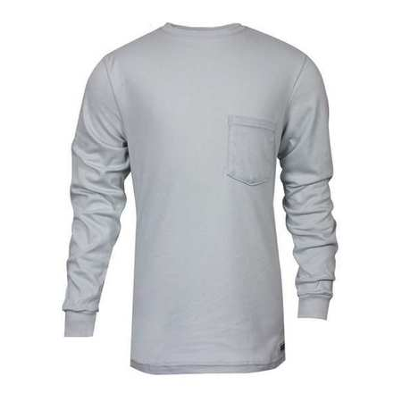 FR Long Sleeve T-Shirt, Gray, L