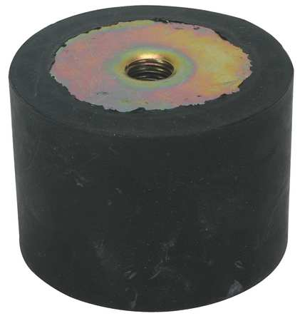 Vibration Isolator, 55 Lb Max, 5/16-18