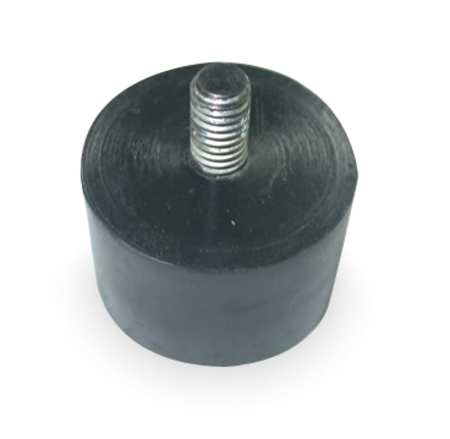 Vibration Isolator, 165 Lb Max, 3/8-16