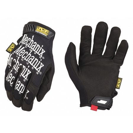 The Original® Mechanics Gloves, XL, Black, Smooth Palm, PR