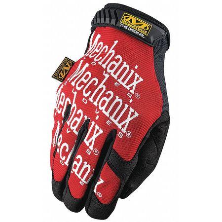 Mechanics Gloves, S, Red, Smooth Palm, PR