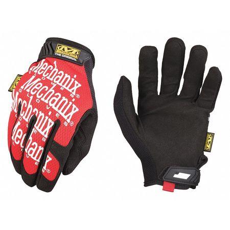 The Original® Mechanics Gloves, S, Red, Smooth Palm, PR