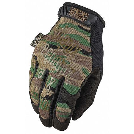 Mechanics Gloves, Camo, 2XL, PR