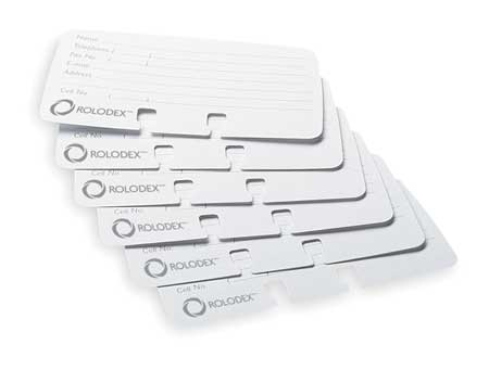 Business Card Refills,  Lined, PK100