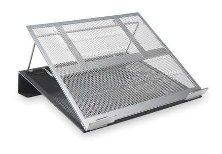 Mesh Laptop Stand,  Metal,  Black/Silver
