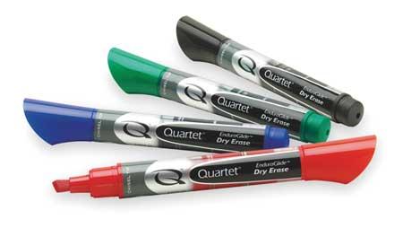 Dry Erase Marker Set,  Chisel Tip,  Assorted,  PK4