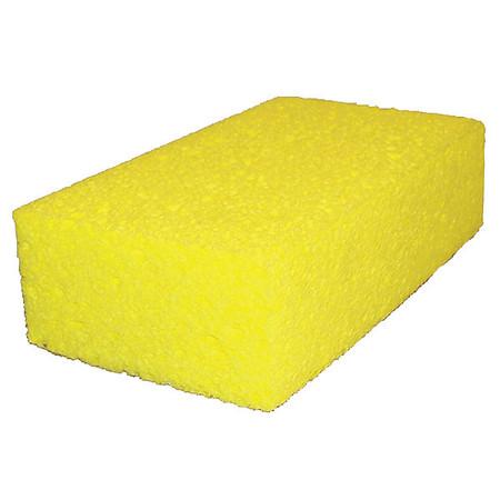 "Sponge, 4-5/16""L, 7-1/2""W, Cellulose, Yw"