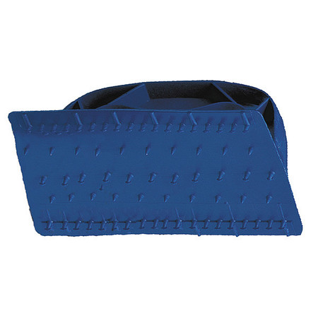 "Pad Holder, 6""L, 3-1/2""W, Nyl, Blu"