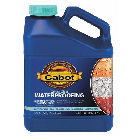 Sealer, Crystal Clear, Flat, 5gal