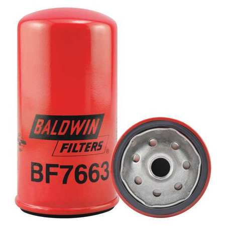 Fuel Filter, 5-27/32 x 3-1/32 x 5-27/32In