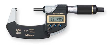 Electronic Micrometer, 1-2 In, IP65