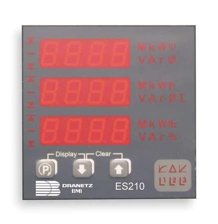 Digital Panel Meter, Power and Energy