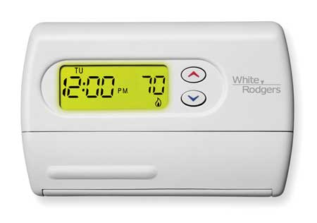 Thermostat,  5-1-1 Day Programmable,  Stages 1 Heat/1 Cool