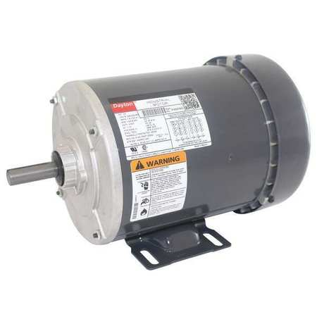 Mtr, 3 Ph, 1/3hp, 1140, 208-230/460, Eff 73.5